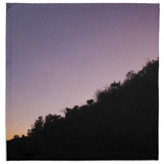 Franklin Canyon Park Twilight Napkin