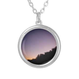Franklin Canyon Park Twilight Silver Plated Necklace