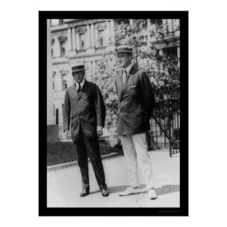 Franklin D. Roosevelt with Gov. James Cox 1920 Poster
