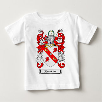 FRANKLIN FAMILY CREST -  FRANKLIN COAT OF ARMS BABY T-Shirt