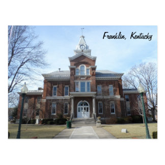 Franklin, Kentucky Postcard
