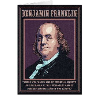 Franklin -Liberty Card
