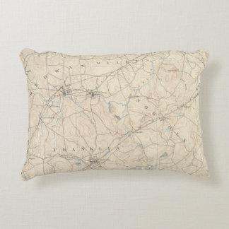 Franklin, Massachusetts Decorative Pillow
