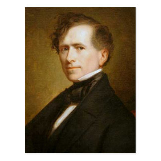 Franklin Pierce 14th President Postcard