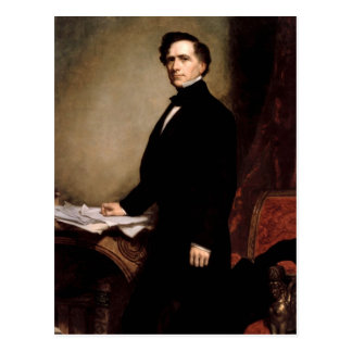 Franklin Pierce Postcard