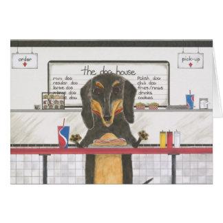 Franklin, the Dachshund Card