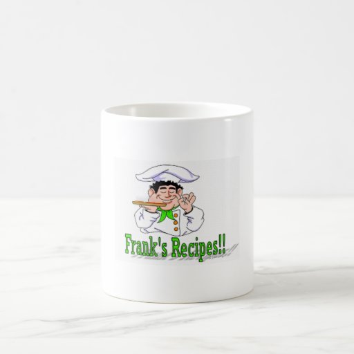 Frank's Recipes! Coffee Mug