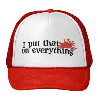 Frank's RedHot Hat