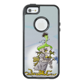 FRANKY BUTTER  ALIEN  Apple iPhone SE/5/5s CS B