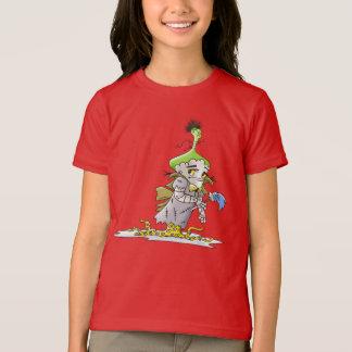 FRANKY BUTTER ALIEN CARTOON American Apparel FineR T-Shirt