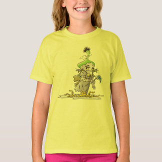 FRANKY BUTTER ALIEN CARTOON Hanes TAGLESS® 5 T-Shirt