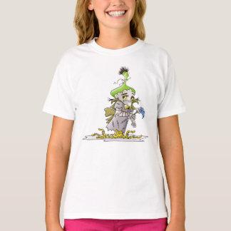 FRANKY BUTTER ALIEN CARTOON Hanes TAGLESS® T- T-Shirt