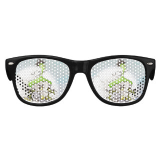 FRANKY BUTTER ALIEN Kids Retro Party Shades