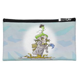 FRANKY BUTTER ALIEN Medium Cosmetic  bag