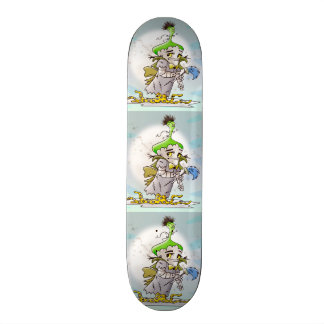 FRANKY BUTTER CARTOON Skateboard 7 7/8""