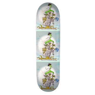 FRANKY BUTTER CARTOON Skateboard 8½""