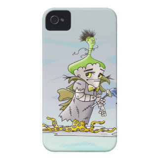 FRANKY BUTTER iPhone 4   B THERE iPhone 4 Case