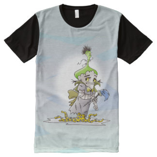 Franky Butter  M.American Apparel Printed T-Shirt
