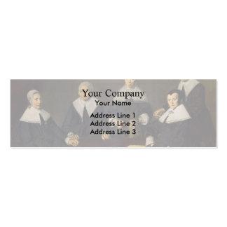 Frans Hals-Regentesses of the Old Men's Almhouse Business Cards