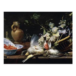 Frans Snyders- Still Life Postcard
