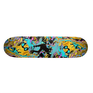 frantic neon skateboard decks