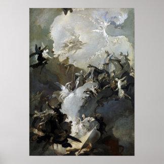 Franz Anton Maulbertsch The Glorification Poster