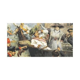 Franz Ferdinand Assassination Canvas Print