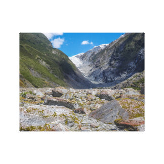 Franz Josef Glacier, New Zealand Canvas Print