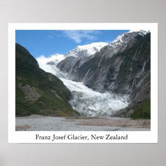 Franz Josef Glacier, New Zealand Poster