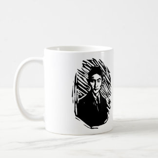 Franz Kafka Portrait Coffee Mug