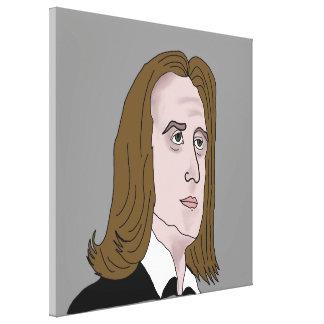 Franz Liszt Canvas Print