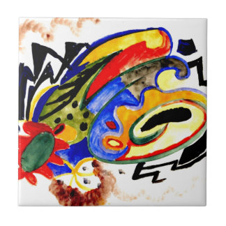 Franz Marc - Abstract Pattern 1 Tile