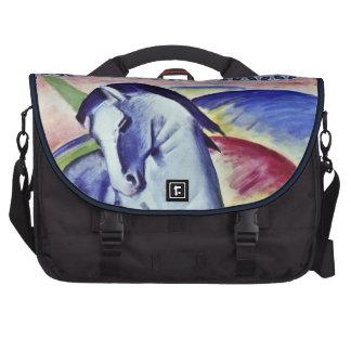 Franz Marc Blue Horse Vintage Fine Art Painting Laptop Commuter Bag