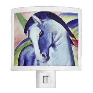 Franz Marc Blue Horse Vintage Fine Art Painting Night Lites