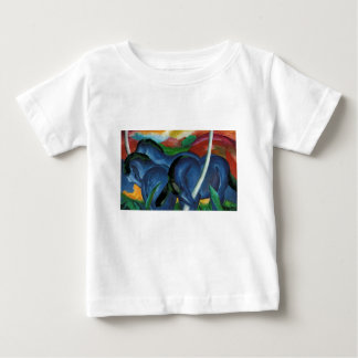 franz marc blue horses  design baby T-Shirt