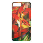Franz Marc Red Foxes Vintage Fine Art iPhone 8 Plus/7 Plus Case