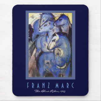 Franz Marc - The Blue Rider - Expressionist Art Mouse Pad