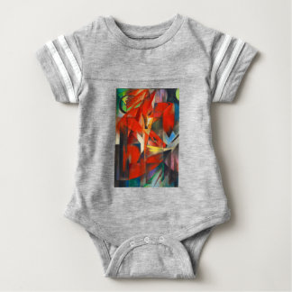 Franz Marc The Foxes Baby Bodysuit