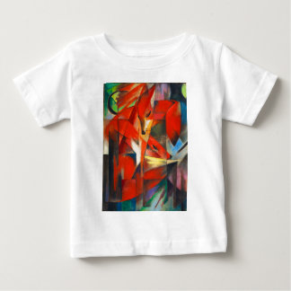 Franz Marc The Foxes Baby T-Shirt