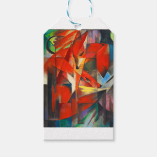 Franz Marc The Foxes Gift Tags