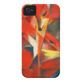 Franz Marc The Foxes iPhone 4 Case-Mate Case