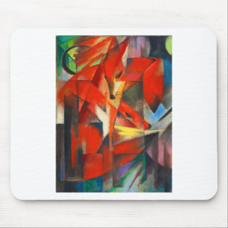 Franz Marc The Foxes Mouse Pad