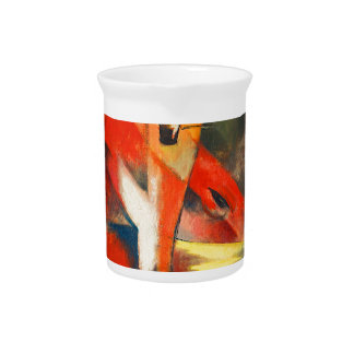 Franz Marc The Foxes Pitcher