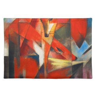 Franz Marc The Foxes Placemat