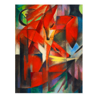 Franz Marc The Foxes Postcard