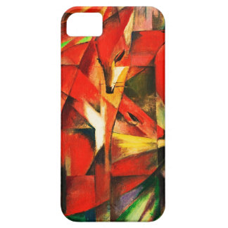 Franz Marc The Foxes Red Fox Modern Art Painting iPhone 5 Cover