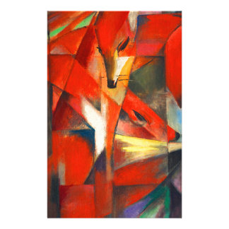 Franz Marc The Foxes Stationery