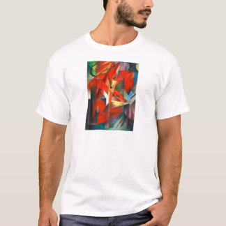 Franz Marc The Foxes T-Shirt