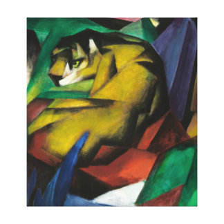 Franz Marc The Tiger Canvas Print