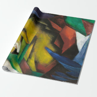 Franz Marc The Tiger Wrapping Paper